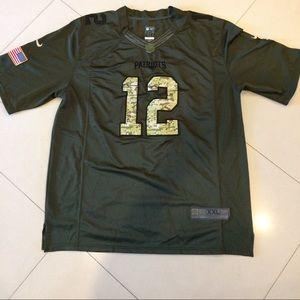 promo code 24c17 7fba2 Tom Brady Nike Salute To Service Limited JerseyXXL